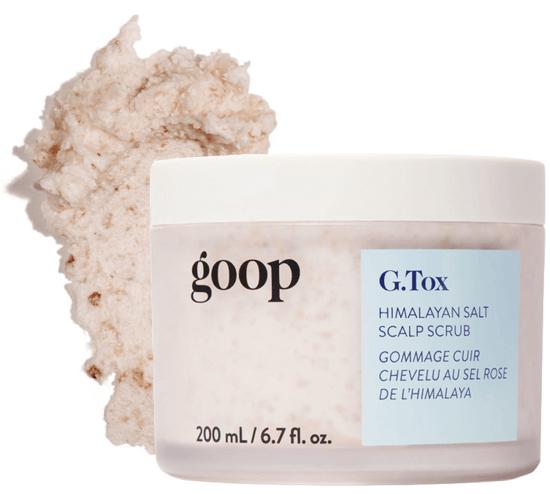 goop Beauty G.Tox Himalayan Salt Scrub Scalp Shampoo