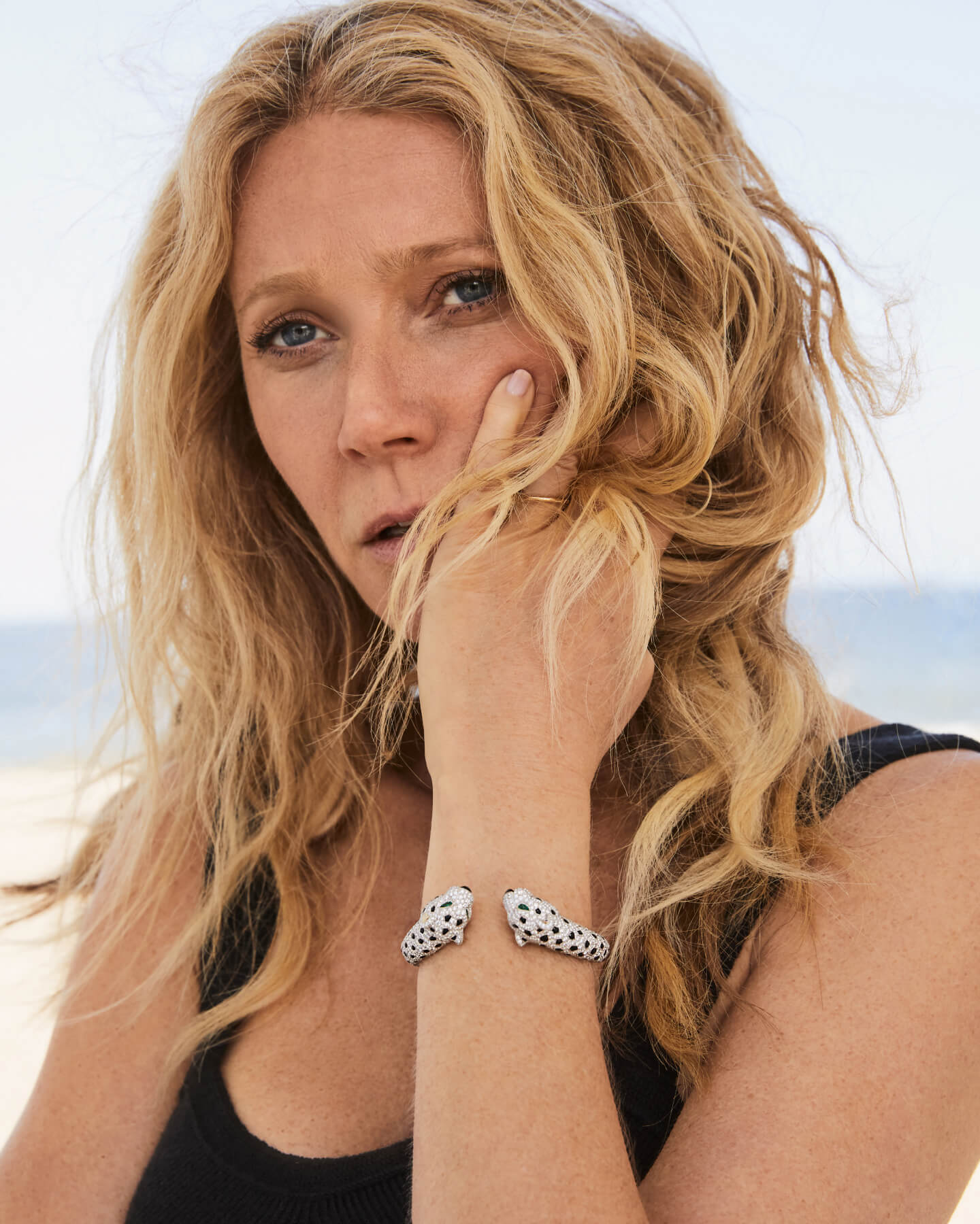 GP posing wearing a cartier bracelet