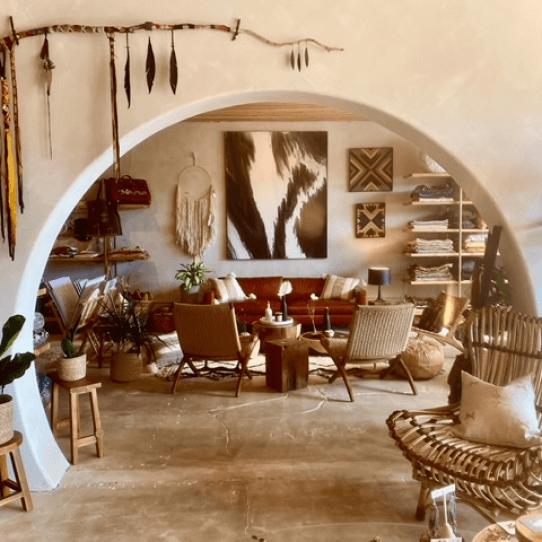 Joshua Tree House Living Room