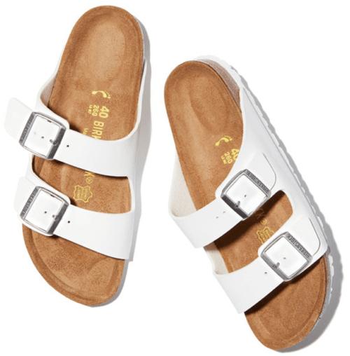 Birkenstock sandals, goop, $100