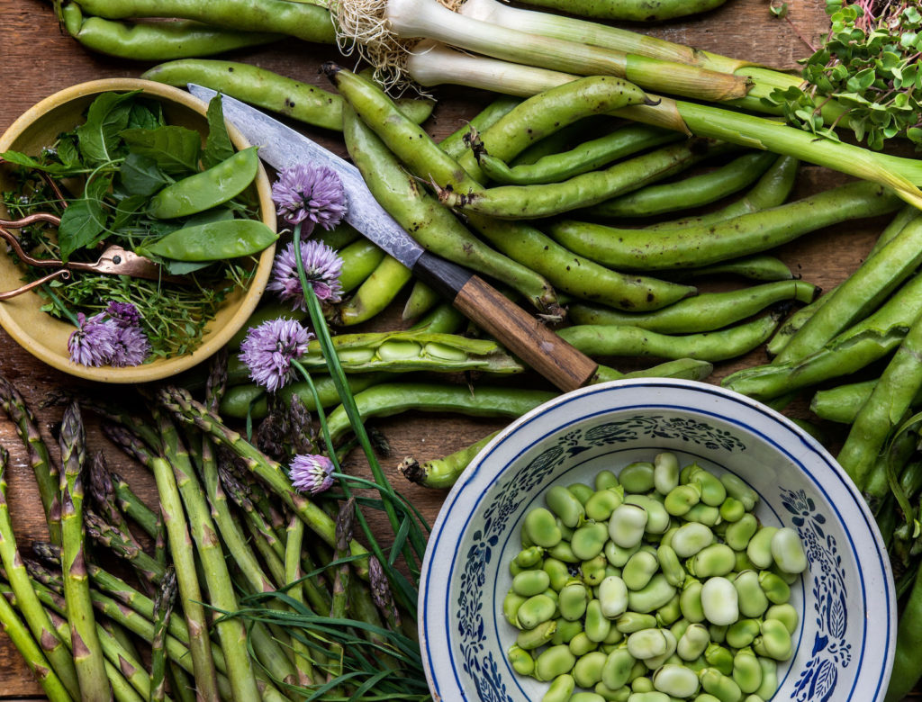 Crisp, Sweet, Tender, and Green: 16 Recipes for Spring