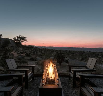 Joshua Tree Fireplace