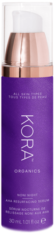 KORA Organics Night AHA Resurfacing Serum, goop, $72