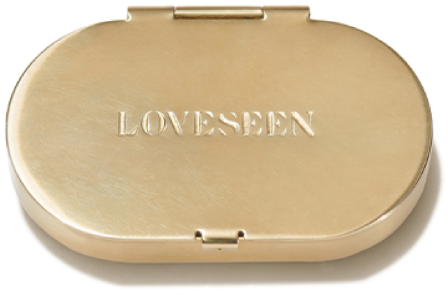 LOVESEEN Little Brass Box