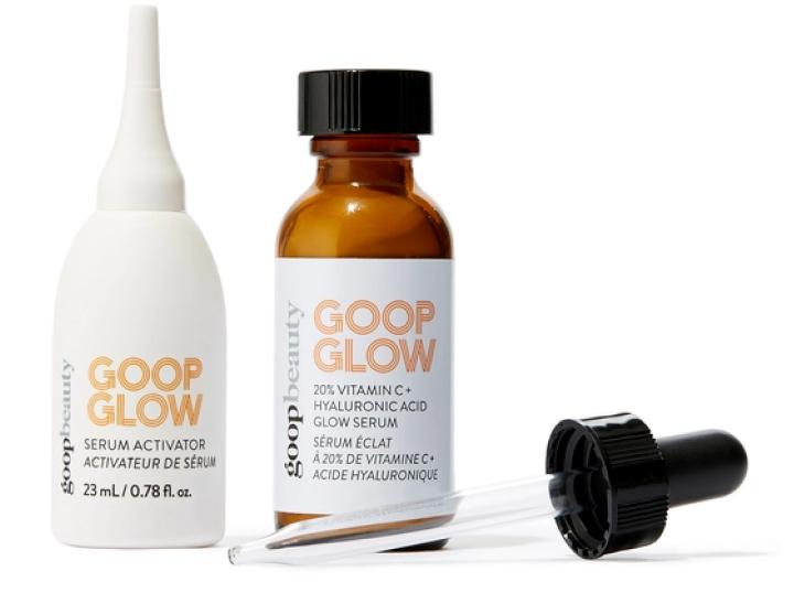goop Beauty  GOOPGLOW 20 % Vitamin C + Hyaluronic Acid Glow Serum