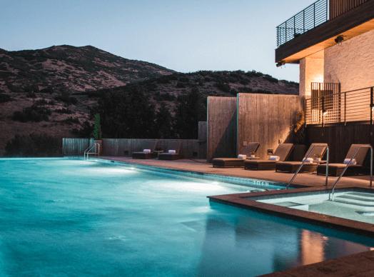 Blue Sky Resort Pool