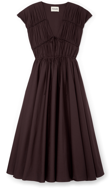 TOVE DRESS, goop, $ 575