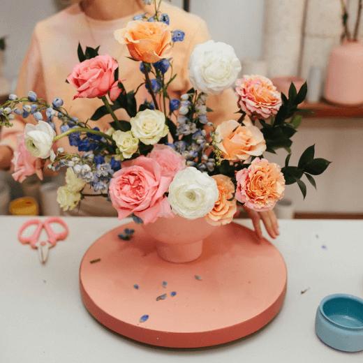 East Olivia Flower Thrapy Box