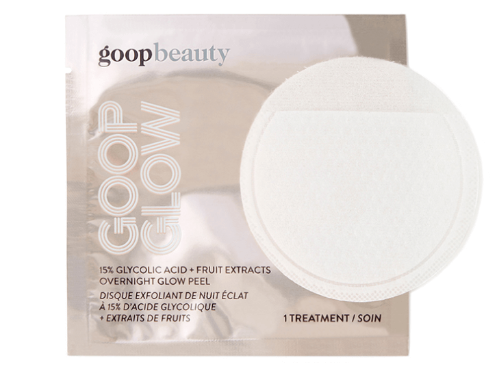 goop Beauty GOOPGLOW 15% Glycolic Acid Overnight Glow Peel, goop, $125/$112 with subscription