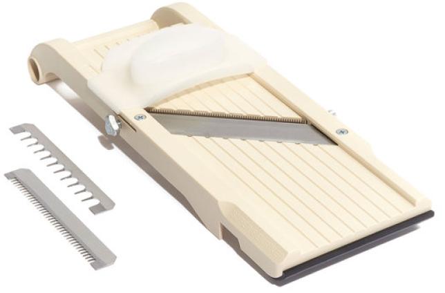 Benriner Super Benriner Mandoline Slicer, goop, $65