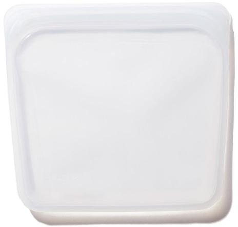 Stasher Reusable Sandwich Bag, goop, $12