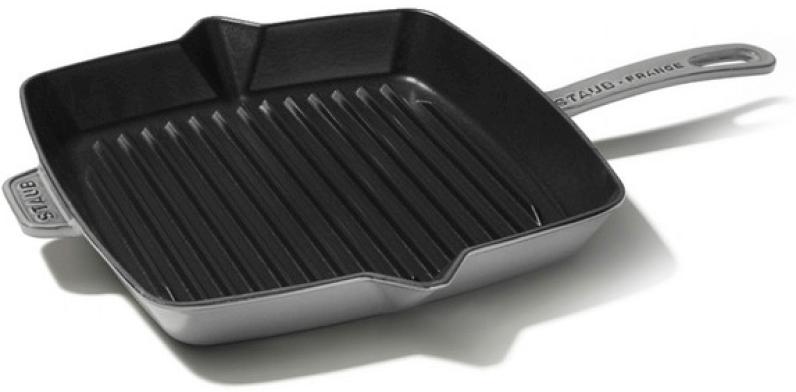 Staub 12-Inch Grill Press Combo