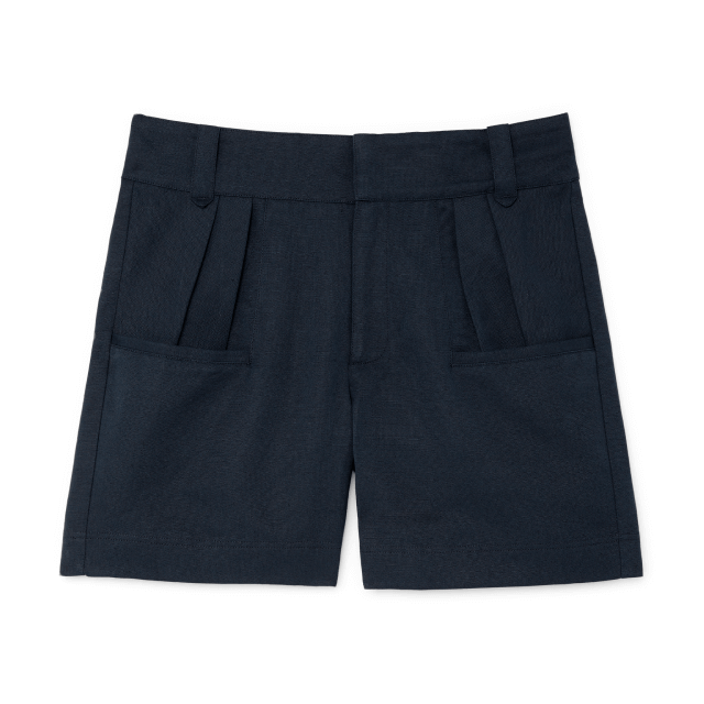 MILLER HIGH-WAISTED PLEATED SHORTS G. Label, $325