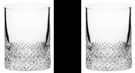 Richard Brendon Diamond Shot Glasses Set of 2