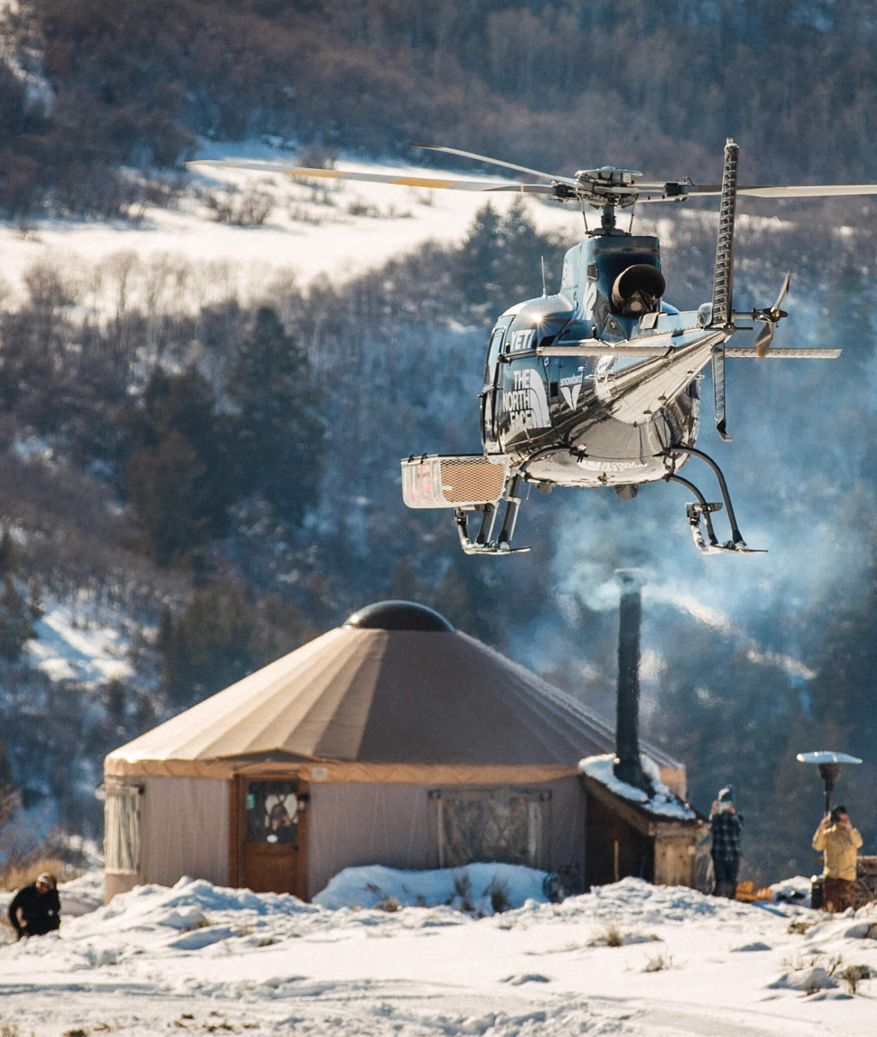 Blue Sky Resort Helicopter Adventure