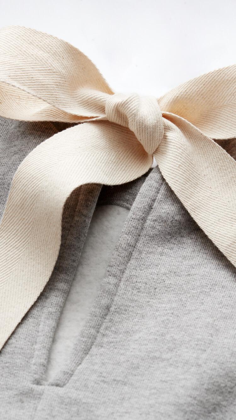STEINER TIE-NECK SWEATSHIRT G. Label, $185