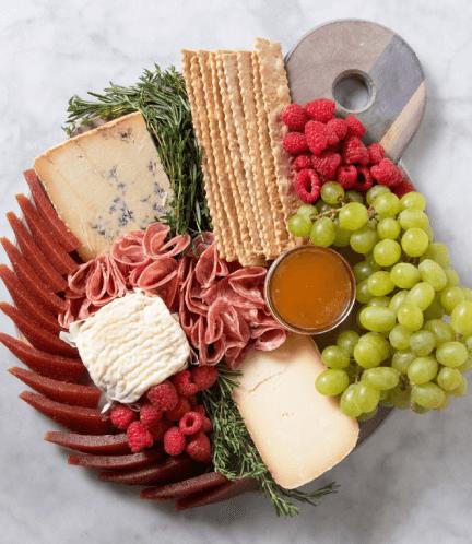 Murray's Cheese cheese plate