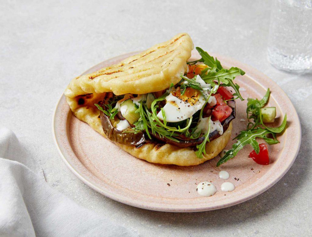Sandwich of Sabich