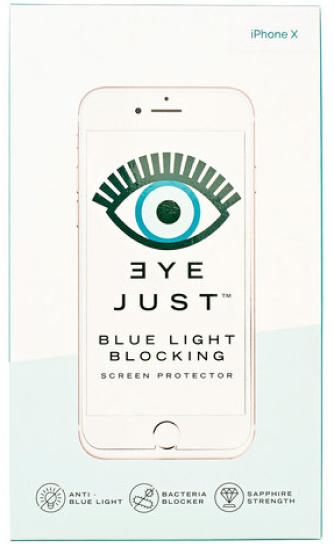 EyeJust Blue Light lock screen protection