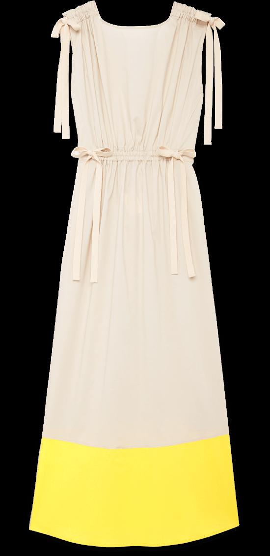 G Label Elisa Midlength Drawstring-Waist Dress