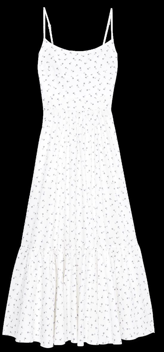 G Label Theodora Tea-Length Bustier Dress