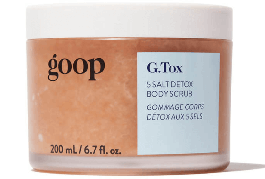 goop Beauty G.Tox 5 Salt Detox Body Scrub