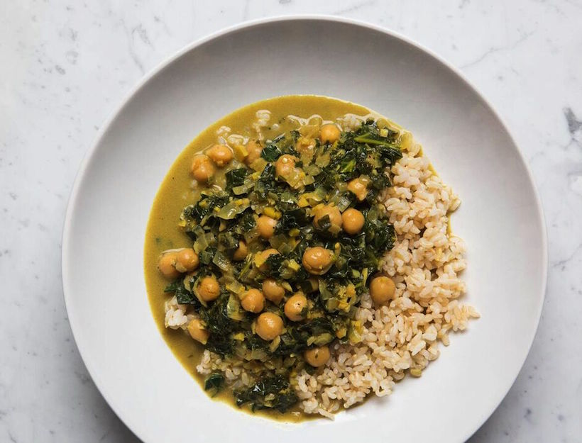 Cece and Kale Curry