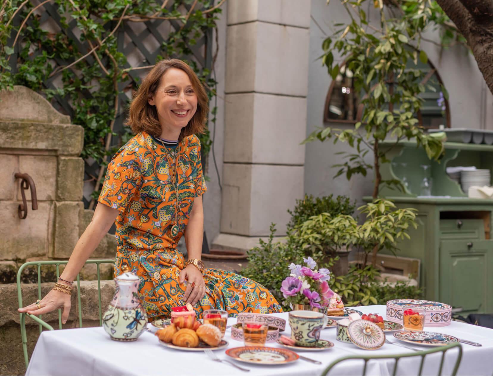 La DoubleJ x Ladurée Tea Party