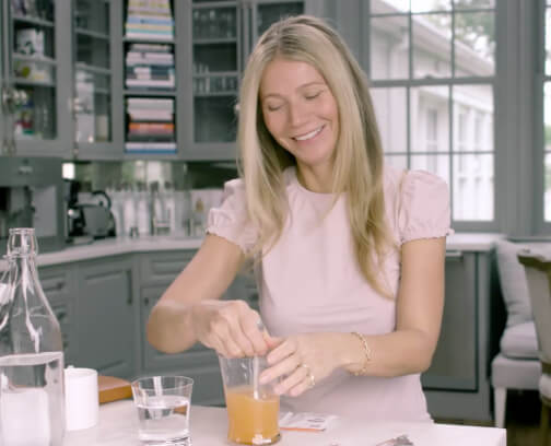 Why GP Drinks Her Antioxidants