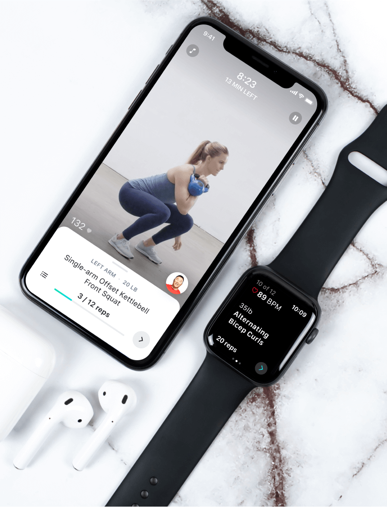 Future workout mobile app