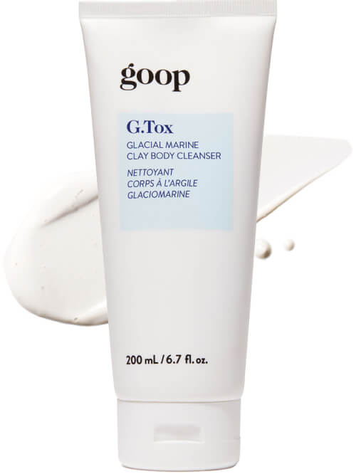 goop Beauty G.Tox Glacial Marine Clay Body Cleanser, goop, $30