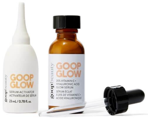 goop Beauty GOOPGLOW 20% Vitamin C + Hyaluronic Glow Serum, goop, $125/$112 with subscription