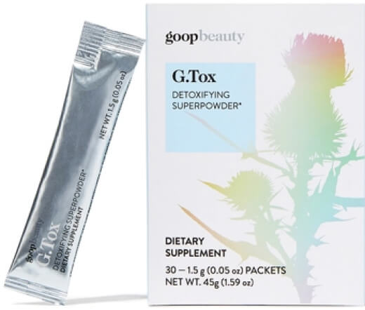 goop Beauty G.Tox Detoxifying Superpowder, goop, $60/$55 with subscription