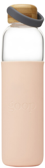 SOMA water bottle goop, $40