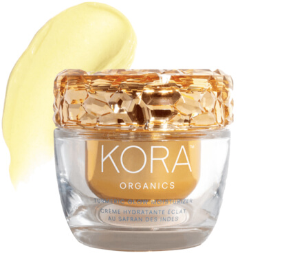 KORA Organics Turmeric Glow Moisturizer goop, $58