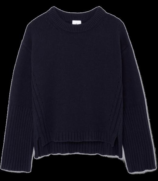 G. Label Van Nice High-Cuff Crewneck Sweater goop, $595