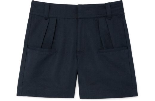 G. Label Miller High-Waisted Pleated Shorts goop, $325