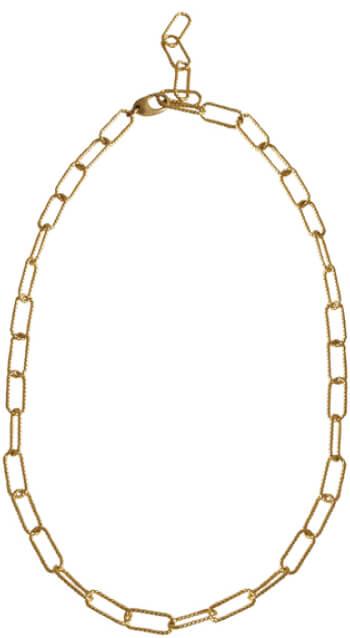 Laura Lombardi chain goop, $110