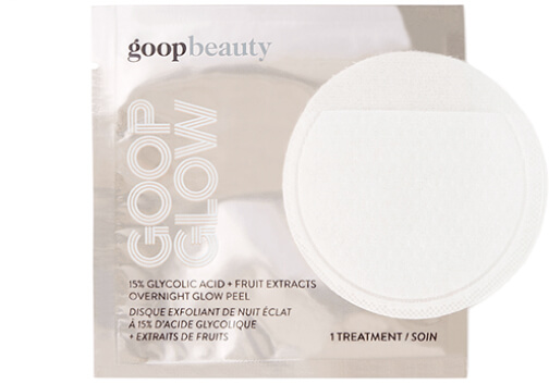 goop Beauty GOOPGLOW 15% Glycolic Overnight Glow Peel goop, $125/$112 with subscription