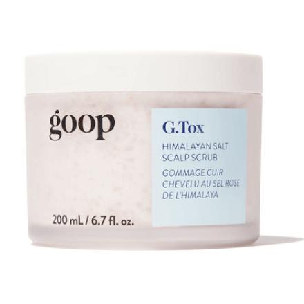 goop Beauty G.Tox Himalayan Salt Scalp Scrub Shampoo
