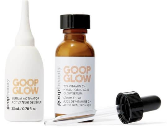goop Beauty GOOPGLOW 20% Vitamin C + Hyaluronic Acid Glow Serum goop, $125/$112 with subscription