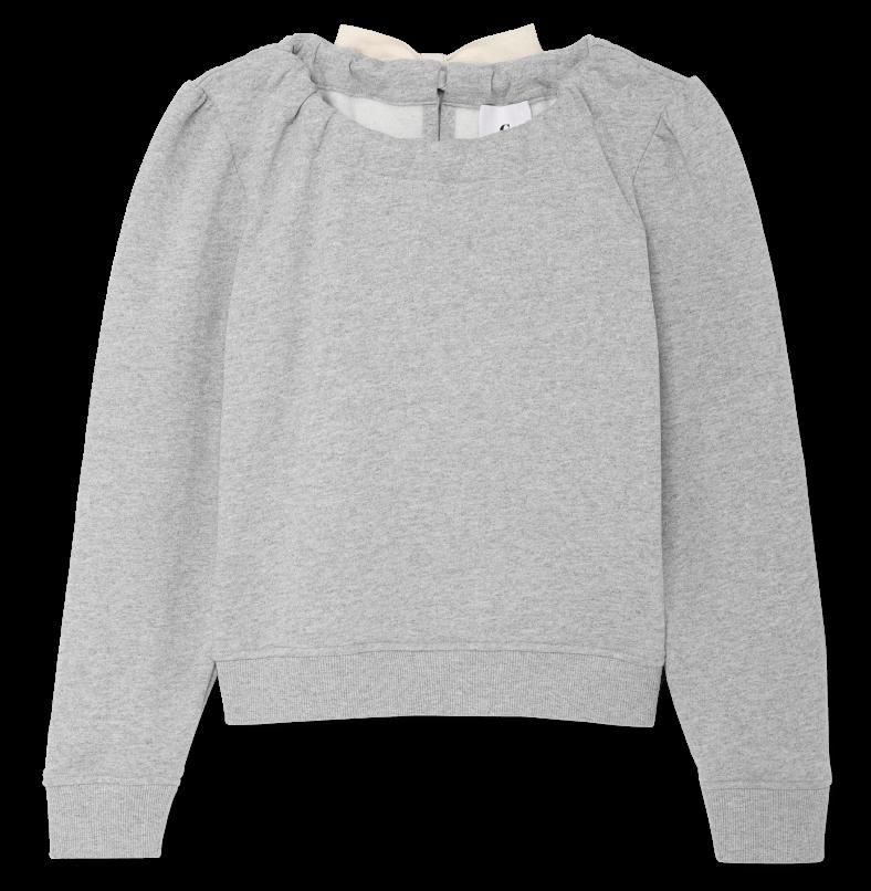 Mr. Label sweater Steiner with tie