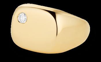 G. Label Sydney Diamond-Floatiing  pinkie ring