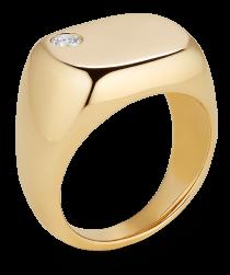 G.Label Sydney Floating-Diamond                  Pinkie Ring