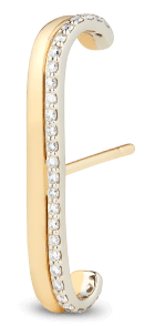 G. LABEL Fiene Yellow Gold and Pavé Ear Cuff, goop, $650