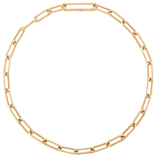 Mr. Necklace with jewelry from the Deven label