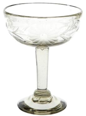 The Little Market Clear Margarita Glass