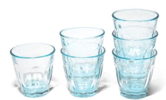 Caravan Bistro Glasses in Blue, Set of 6