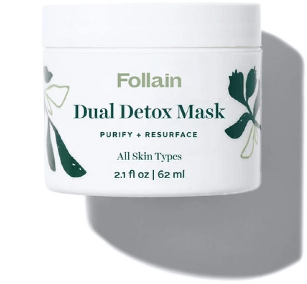 Follain Dual Detox Mask, goop, $34