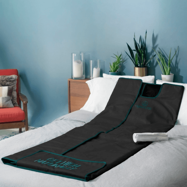 HigherDOSE Infrared Sauna Blanket V3, $500
